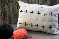 Stitched Pillow Cover