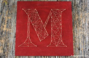 String Art Monogram