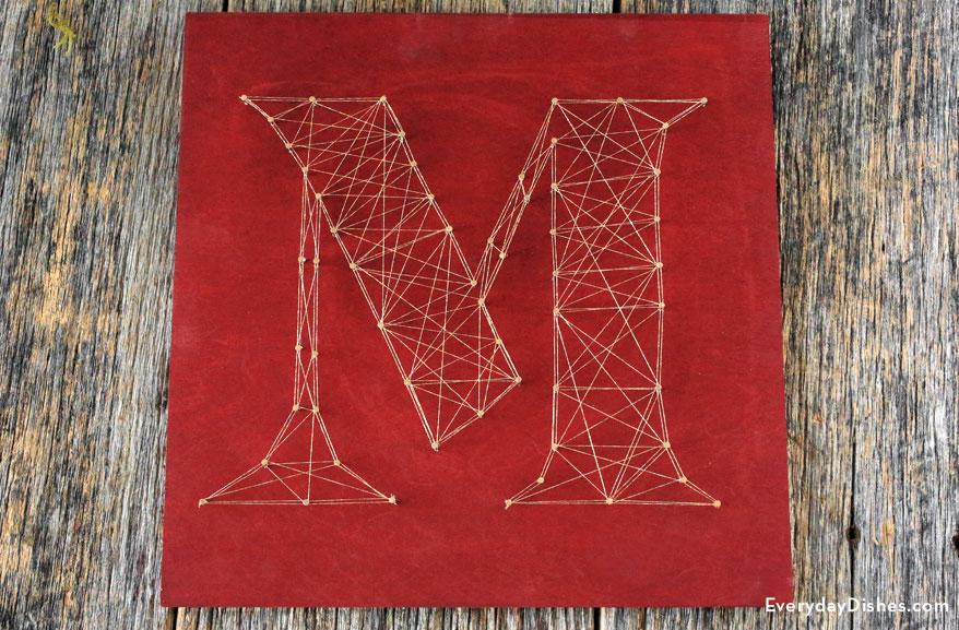 String Art Monogram