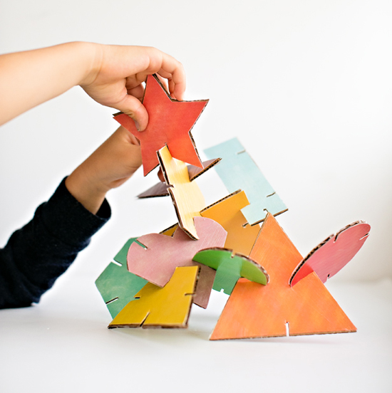 Geometric Shape Sculptures