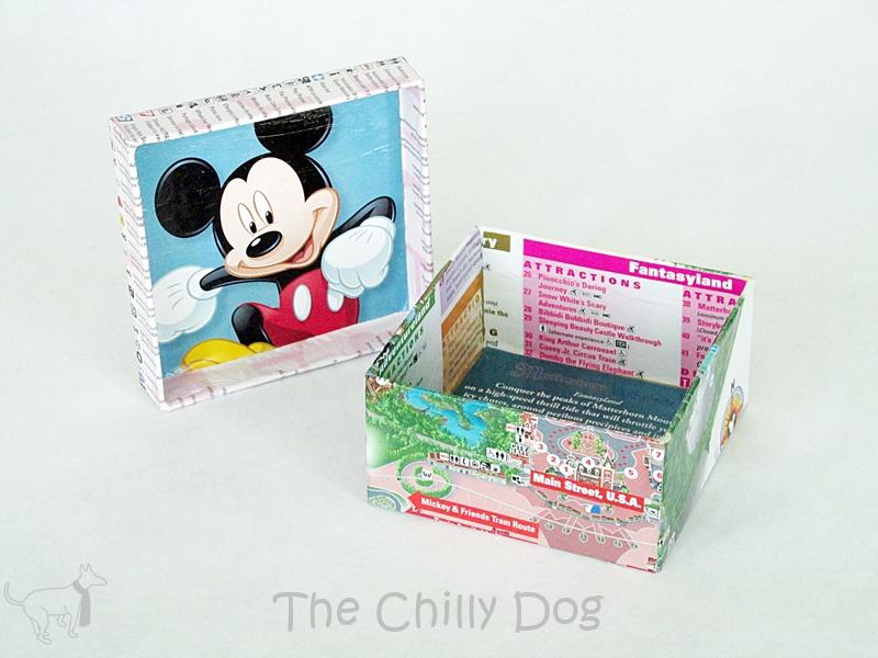 Disney Map Keepsake Box