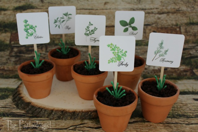 Herb Garden Cupcakes