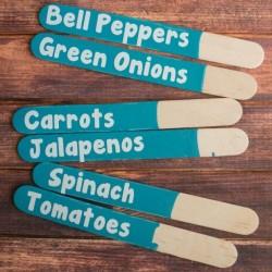 Easy Garden Markers