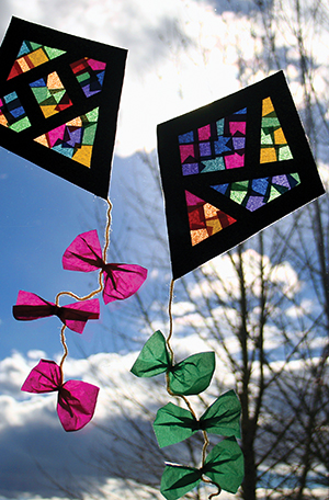 Window Kite Craft