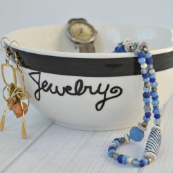 Personalized Jewelry Bowl