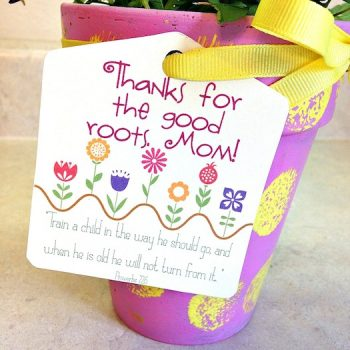 Mother's Day Flower Pot Gift