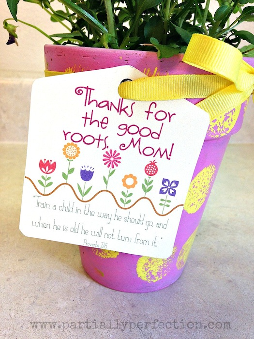 Mother S Day Flower Pot Gift Fun Family Crafts