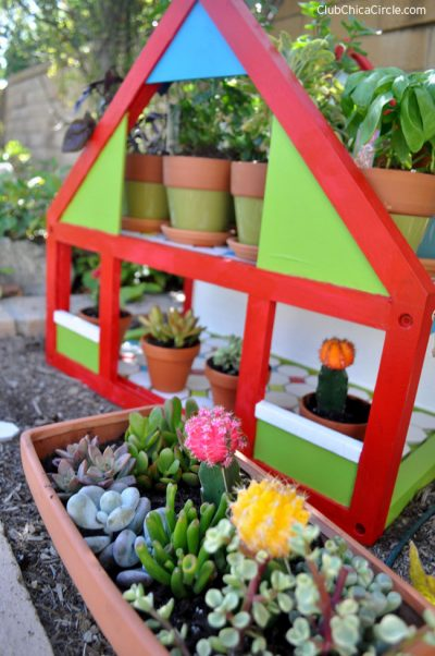Dollhouse Herb Garden