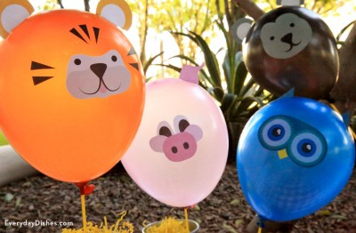 to decorate a birthday party it s easy and super fun for the kids