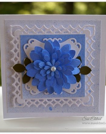 Punched Flower Card