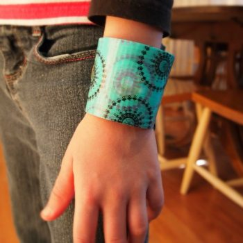 Coffee Sleeve Bracelet