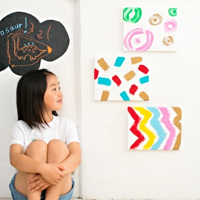 Fabric Canvas Painting