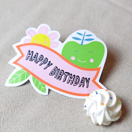 Printable Birthday Tag