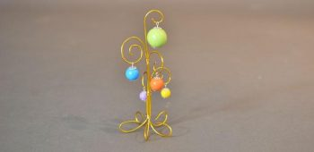 Wire Beaded Tree