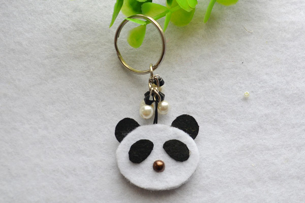 Panda Keychain Fun Family Crafts