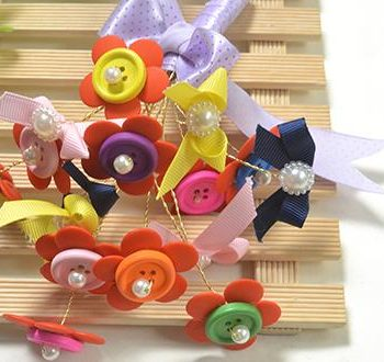 Flower Button Bouquet
