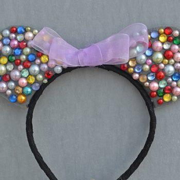 Beaded Mickey Headband