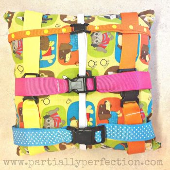 Buckle Pillows for Toddlers