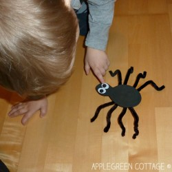 Craft Foam Spider