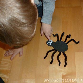 Craft Foam Spider