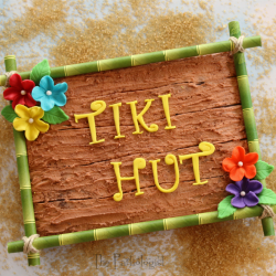 Tiki Hut Brownie