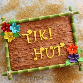 Tiki Hut Brownie