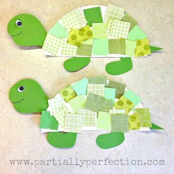 Paper Plate Turtles