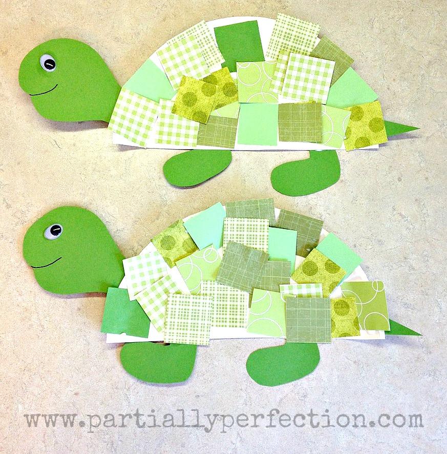 Toddler Tortoise Crafts