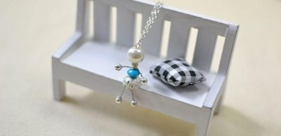 Silver Fairy Pendant Necklace