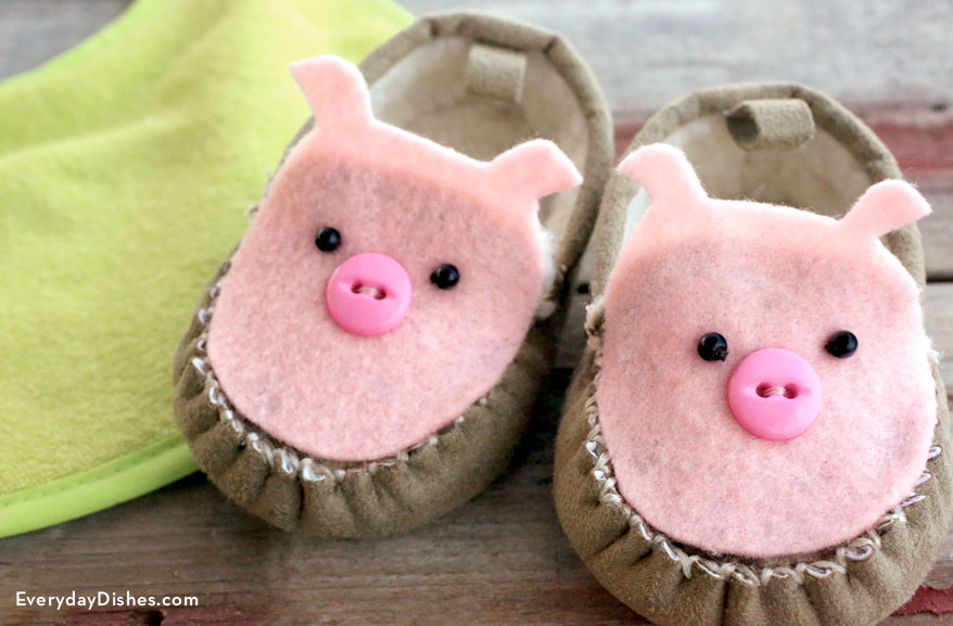 Pig Baby Shoes