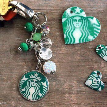 Coffee Shop Keychain