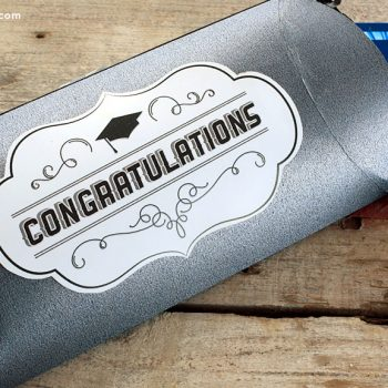 Graduation Printable Pillow Box