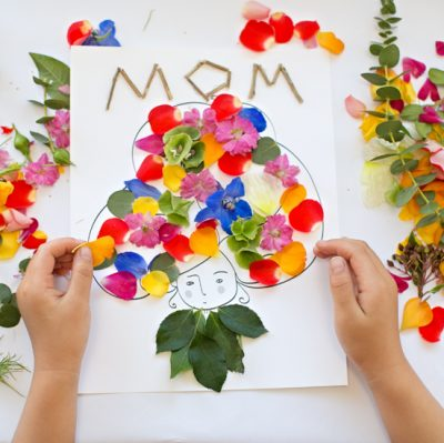 Mother's Day Flower Art