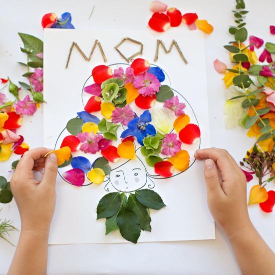 Mother's Day Flower Art