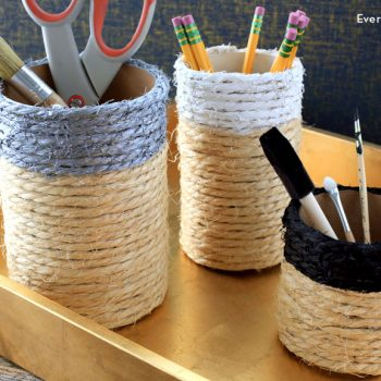 Twine-Wrapped Containers