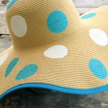 Stenciled Hat