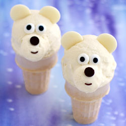 Ice Cream Cone Polar Bears