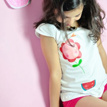 Fruit and Flower T-Shirt