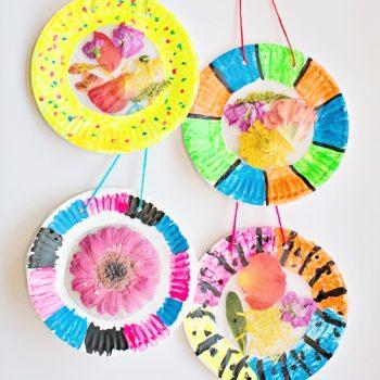 Colorful Flower Suncatcher