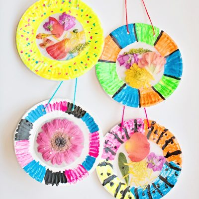 Colorful Flower Suncatcher