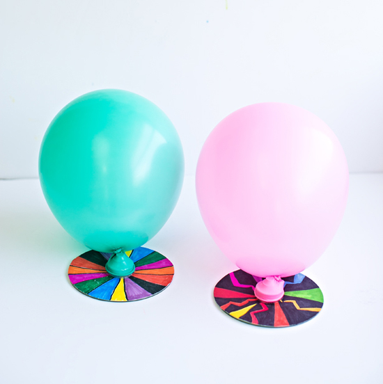 Balloon CD Hovercraft