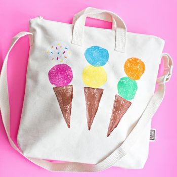 Stamped Ice Cream Bag