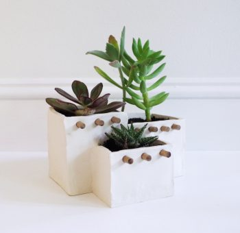 Adobe House Planter