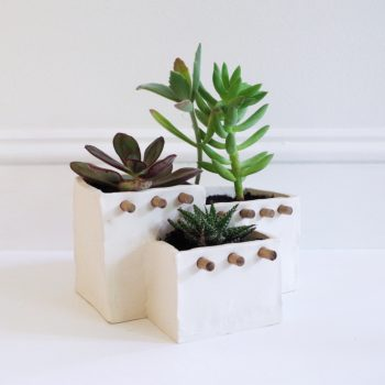 Adobe House Succulent Planter