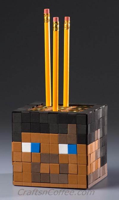 Minecraft Pencil Cube