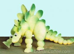 Styrofoam Stegosaurus