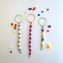 Beaded Bubble Wands