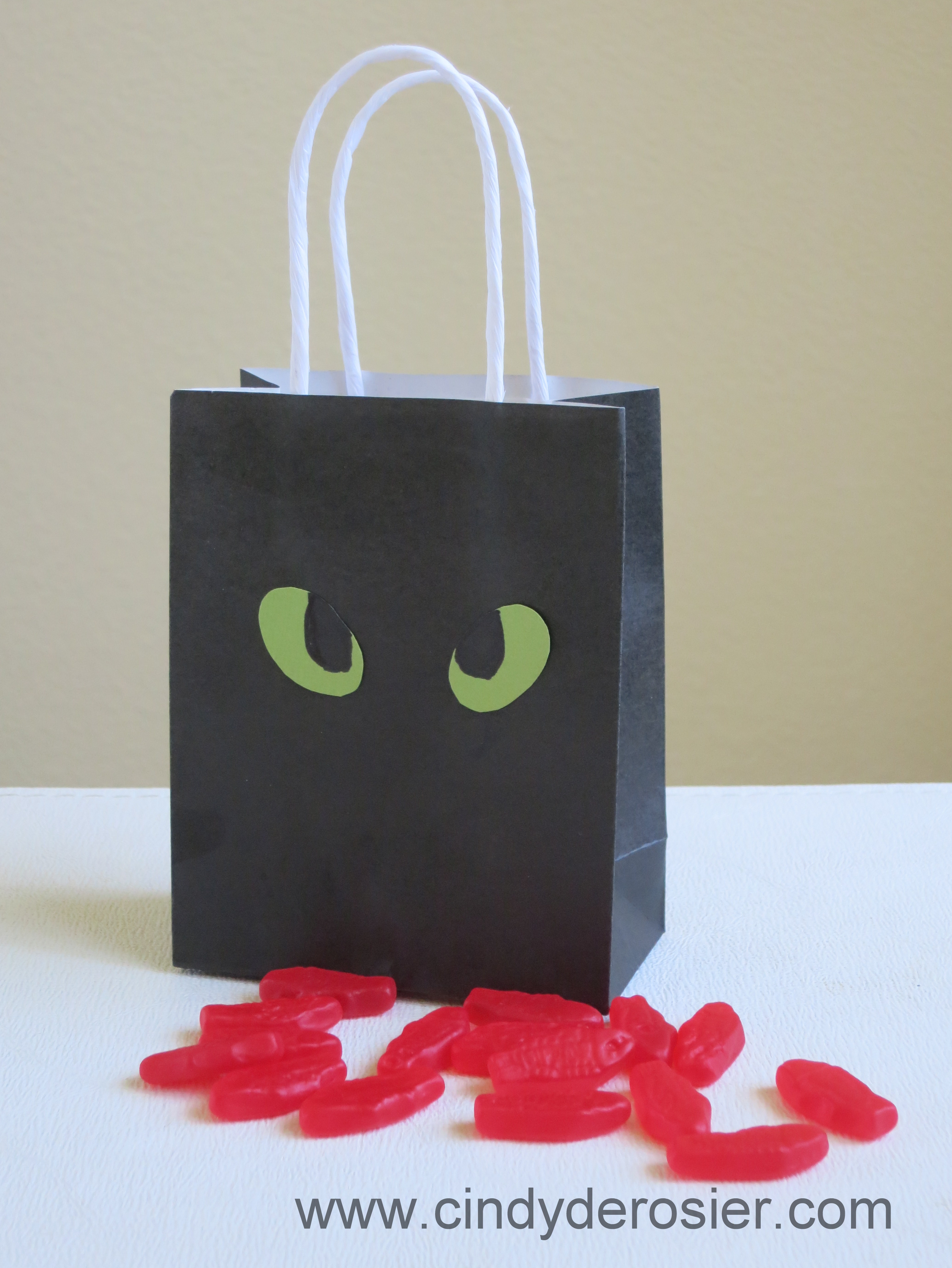 how to train a dragon party bags