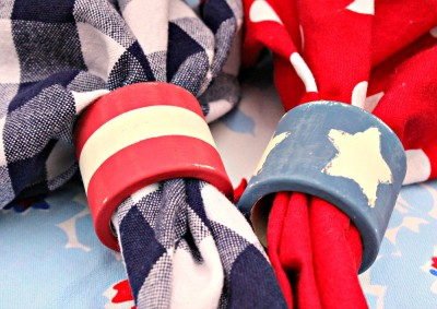 Patriotic Napkin Rings