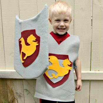Knight Tunics and Shields
